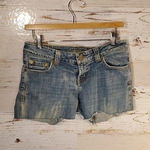 AEO cut-off jean shorts